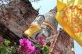 Buddha Statue at Ayutthaya, Thailand Royalty Free Stock Photo