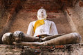 Buddha statue in Castle Capital Stock Images