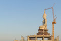 Buddha statue construction. Stock Photography