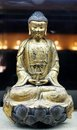 Buddha statue generic golden stone Stock Photography