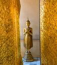 Buddha statue of at the grand palace bangkok thailand Royalty Free Stock Photography