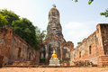 Buddha statue at historical park, Thailand Royalty Free Stock Photos