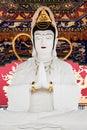 Buddha statue hong kong china march at ten thousand buddhas monastery in hong kong on march hong kong china its one of the most Stock Image