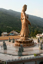 Buddha statue at Kek Lok Si Malaysia Stock Photography