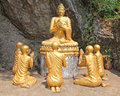 Buddha Statue - Luang Prabang Laos Royalty Free Stock Photo