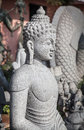 Buddha statue in mamallapuram tamil nadu india Stock Photos