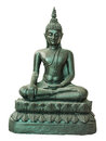 Buddha statue in meditated posture Stock Image