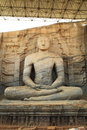 Buddha statue stone craving in srilaka Stock Photography