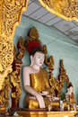 Buddha statue at temple in Mandalay Royalty Free Stock Photos