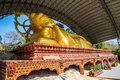 Buddha statue in the temple of thailand Royalty Free Stock Image