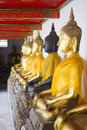 Buddha statue of Thailand Royalty Free Stock Photography