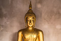 Buddha statue in thailand for god bless Royalty Free Stock Photos