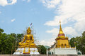 Buddha statue under construction thailand in the north of Royalty Free Stock Images