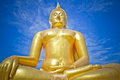 Buddha  statue Wat muang Royalty Free Stock Photography