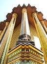 Buddha Statue at Wat Phra Kaeo , Bangkok Thailand Stock Image