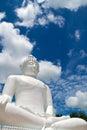 Buddha statue of wat phra thart jom khitti Royalty Free Stock Photo