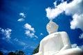 Buddha statue of wat phra thart jom khitti Stock Image