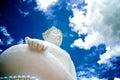 Buddha statue of wat phra thart jom khitti Royalty Free Stock Image
