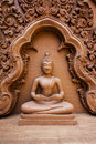 Buddha statue in wat thailand Stock Photo