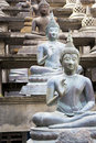 Buddha Statues at Gangaramaya Temple Stock Photo