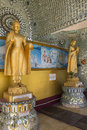 Buddha statues outside kaba aye pagoda world peace pagoda yangon myanmar burma Stock Images