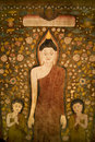 Buddha tapestry. Stock Photos
