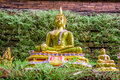Buddha at temple chiang mai thailand Royalty Free Stock Images