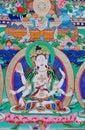 Buddha of thangka Royalty Free Stock Photo