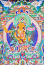 Buddha of thangka Royalty Free Stock Photo