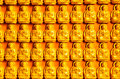 Buddha wall you to use everything Stock Photography