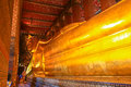 Buddha in Wat Pho thailand Stock Images