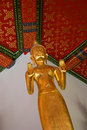 Buddha at Wat Phra Kaeo Stock Photography