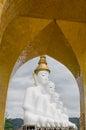 Buddha wat phra that pha kaew phetchabun thailand big Royalty Free Stock Photo