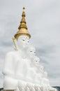 Buddha wat phra that pha kaew phetchabun thailand big Stock Image