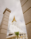 Buddha wat phra that pha kaew phetchabun thailand big Stock Photography