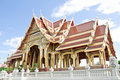 Buddhism pavilion in bangkok Royalty Free Stock Image