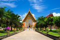 Buddhism temple in Thailand Royalty Free Stock Photography