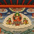 Buddhism wall painting