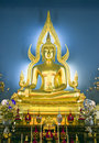 Buddhist Altar Stock Photo