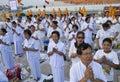 Buddhist Disciples Royalty Free Stock Photos