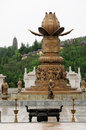 Buddhist Fountain In China