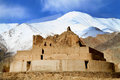 Buddhist gompa remains Stock Photography