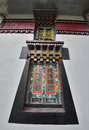 Buddhist monastery in tibet architectural details of a Stock Photos