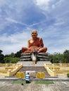 Buddhist monk monument in Thailand