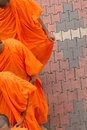 Buddhist Monks Royalty Free Stock Photography