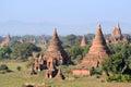 Buddhist Pagodas Royalty Free Stock Photo