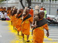 Buddhist Pilgrimage Stock Photography