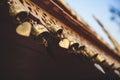 Buddhist prayer bells Royalty Free Stock Photo