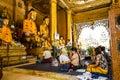 Buddhist praying