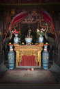Buddhist Shrine, Religion, Worship God Royalty Free Stock Photo